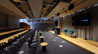 The Bradfield Centre's spacious 100-seat auditorium