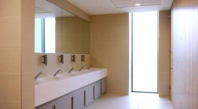 The Bradfield Centre's shower and changing facilities